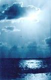 Südlicher Kultur-Park Adler der Sonnenuntergang im Oktober 1974 Lizenzfreie Stockfotos