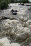 Südlicher Programmfehler-Fluss Weg auf dem Vorstadtwald Lizenzfreie Stockfotografie