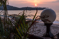 Südlicher Sonnenuntergang Stockfoto