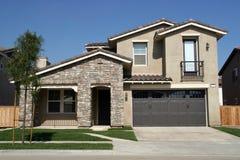 Südliches CA-Haus Lizenzfreies Stockfoto