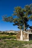 Südliches Utah-Haus lizenzfreies stockbild