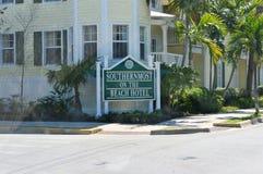 Südlichst auf dem Strand-Hotel Key West Florida Lizenzfreie Stockfotografie