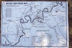 SüdLuangwa Nationalpark Mfuwe Bereich Lizenzfreies Stockbild