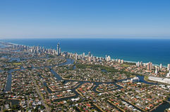 Südost-Queensland Skyline 2 Gold Coast Stockfoto