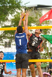 27. südostasiatische Strand-Volleyball-Meisterschaft. Stockfotografie