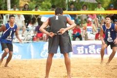 27. Südostasiatische Strand-Volleyball-Meisterschaft. Stockfoto