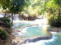 Südostasiatischer Wasserfall Lizenzfreies Stockfoto
