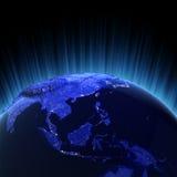 Südostasien-Datenträger 3d übertragen vektor abbildung