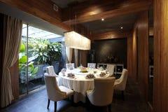 Südostc$asiatisch-art Gaststätte stockbild