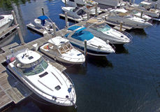 Südostflorida-Jachthafen Stockfotografie