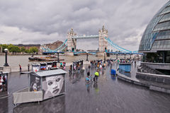 Südquerneigung, London Lizenzfreies Stockfoto