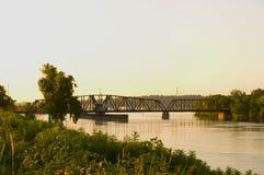 SüdSaint Paul-Schwingen-Brücke Stockbild