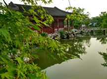 Südsee in Jiaxing, Zhejiang Provinz, China, im Jahre 2015 Stockfotografie