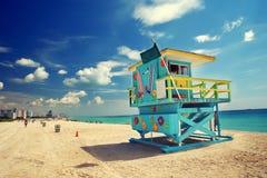 Südstrand, Miami Stockbilder