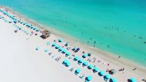 Südstrand, Miami Beach florida USA stock video footage