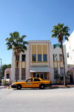 Südstrand-Miami-Hotel Stockbild