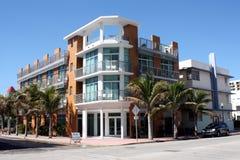 Südstrand-Miami-Hotel lizenzfreie stockfotos
