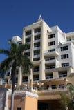 Südstrand-Miami-Hotel lizenzfreie stockbilder