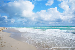 Südstrand von Miami stockfotografie
