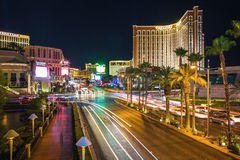 Südstreifen Las Vegas stockfotografie