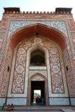 Südtor des Grabs von Akbar das große Stockfoto