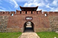 Südtor von Hengchun-Festung Lizenzfreie Stockfotos