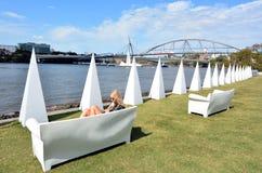 Südufer Parklands - Brisbane Australien Lizenzfreie Stockfotografie