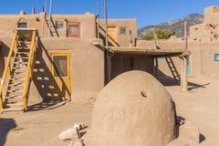 Südwesten-USA-Pueblo Lizenzfreie Stockbilder