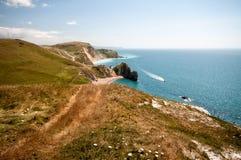Südwestküstenweg, Dorset Stockbilder