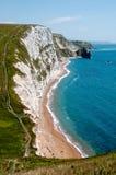 Südwestküstenweg, Dorset Lizenzfreies Stockbild