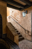Südwestliche Architektur, Tlaquepaque in Sedona, Arizona Lizenzfreie Stockfotos