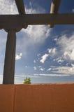 Südwestlicher luftgetrockneter Ziegelstein. Stockbild