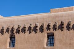Südwestlicher luftgetrockneter Ziegelstein Stockfoto