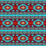 Südwestliches ethnisches Navajomuster stockbild