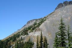 Südweststeigung des Ring-Berges Stockfotos