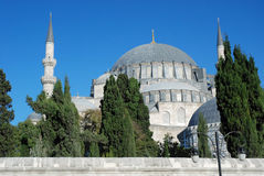 Süleymaniye Camii - Ottoman imperial mosque - Istanbul Royalty Free Stock Photography