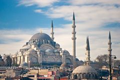Süleymaniye Moschee, Istanbul, die Türkei. Lizenzfreies Stockbild