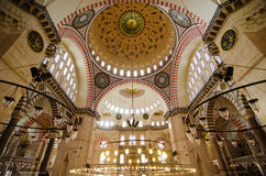 Süleymaniye Mosque Royalty Free Stock Photography