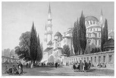 Süleymaniye Mosque Stock Images