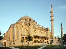 Süleymaniye Mosque at dawn Stock Photography