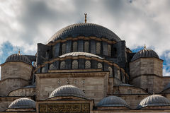 Suleymaniye Mosque - Istanbul. Detail Suleymaniye mosque in Istanbul Stock Images