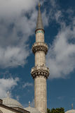 Suleymaniye Mosque - Istanbul. View of one of the minarets of Suleymaniye Mosque in Istanbul Stock Photos