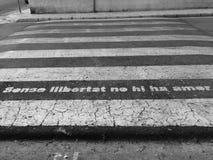 Sünde libertad kein Heu amor lizenzfreies stockfoto