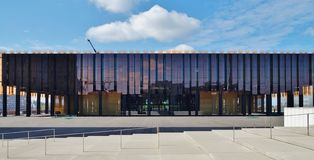 Sąd Europejski zjednoczenie w Luksemburg (europejski trybunał sprawiedliwości) obraz stock