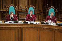 Sąd Konstytucyjny Ukraina zdjęcia royalty free