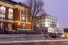 Sąd Najwyższy Missouri widzieć wczesny poranek fotografia royalty free