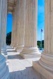 Sąd Najwyższy Zlany stan kolumn rząd fotografia royalty free