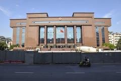 Sąd Rejonowy, Sąd Okręgowy Buildin, Chengdu, Chiny fotografia royalty free