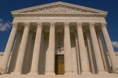 Sądu Najwyższy budynek fotografia stock