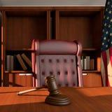 Sądzi biuro Zdjęcie Stock